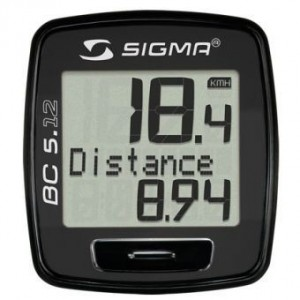 bikever bike rental hiring accessory speedometer sigma bc 512