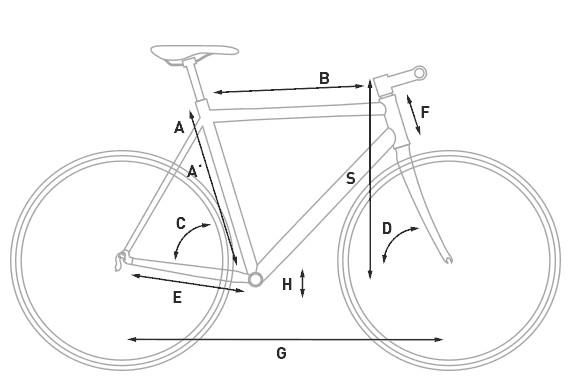 bikever hiring rental bike adult trekking cube town geometry