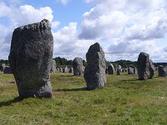 bikever bike hiring rental regions brittany places cities unusual landscape sea land carnac menhir stele prehistory