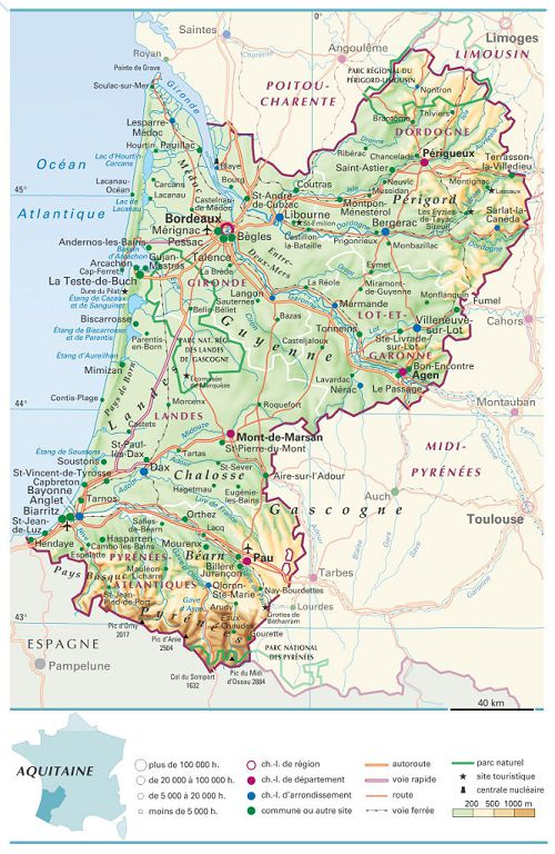 bikever location velo regions sud ouest aquitaine carte