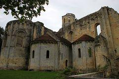 bikever location velo regions sud ouest lieux villes insolite paysage abbaye la sauve gironde