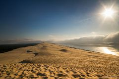 bikever bike hiring rental regions south west places cities unusual landscape bay arcachon dune pilat sand