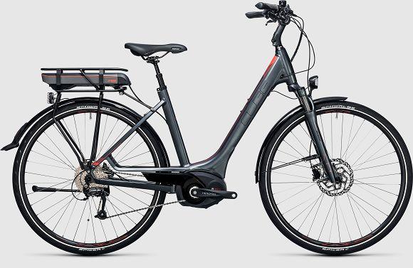 bikever hiring rental bike adult ebike cube touring hybrid bosch drive