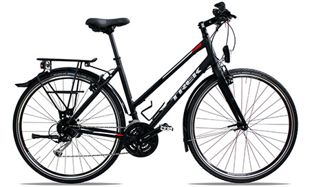 bikever hiring rental bike adult trekking trek fx3 women