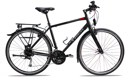 bikever hiring rental bike adult trekking trek fx3 men