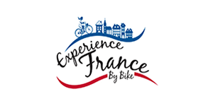 logo maggie lacoste experience france by bike bikever