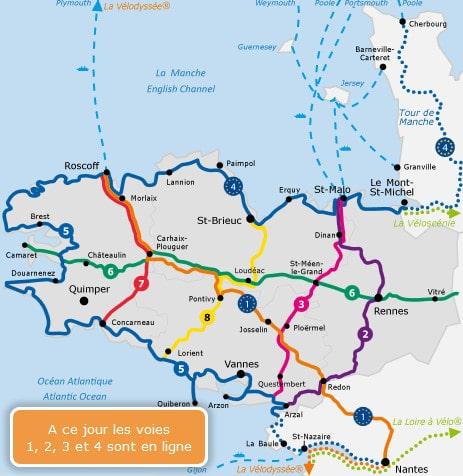 bikever velo location regions bretagne voie verte piste cyclable