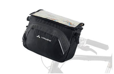 bikever bike hiring rental accessory transport pannier vaude road 2 front handlebar