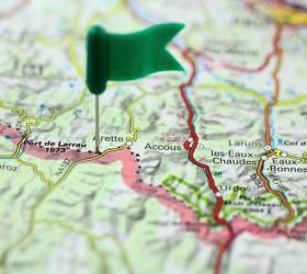 bikever location accueil velo france planifier voyage carte punaise