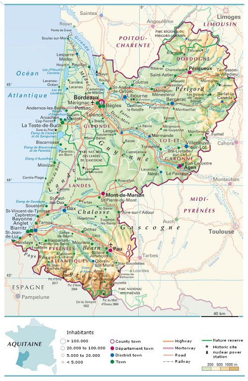 bikever bike rental hiring regions south west aquitaine map