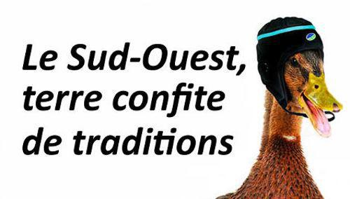 bikever location velo regions sud ouest culture canard confit rugby terre tradition