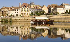 bikever bike hiring rental regions south west places cities unusual landscape bergerac gabarre